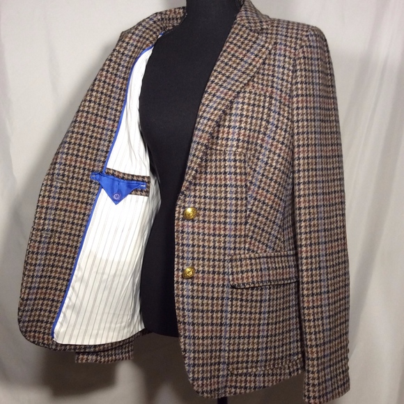 J. Crew Jackets & Blazers - J. Crew Checkered Blazer
